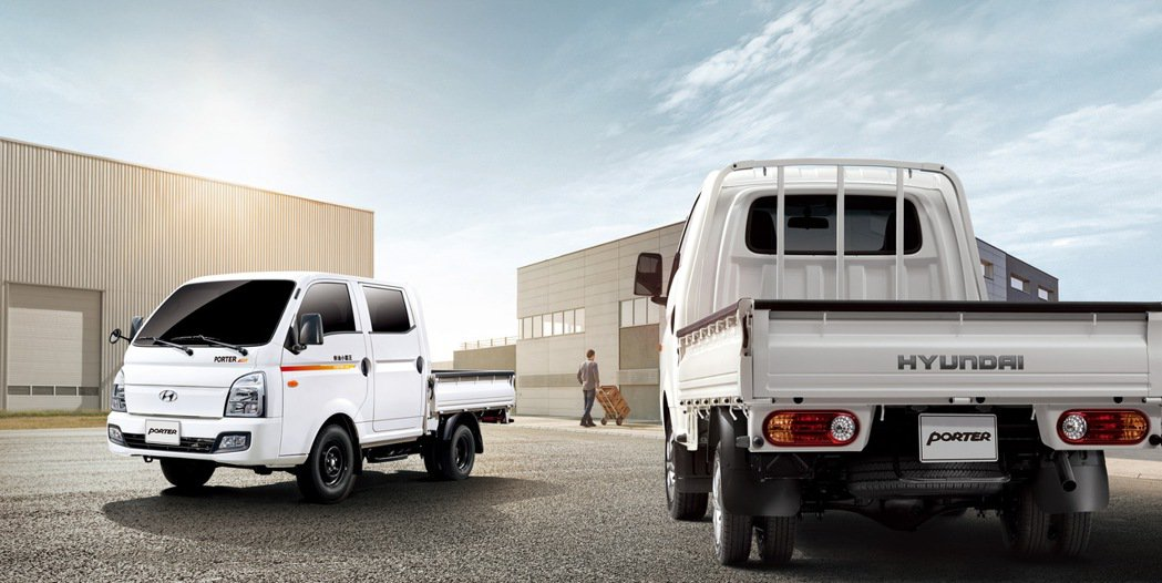 PORTER Pro三噸半級冠軍商車。 圖/南陽實業提供