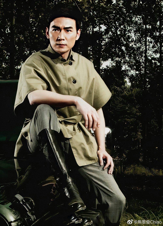 焦恩俊過往演出過不少大俠的角色。 圖/擷自焦恩俊微博