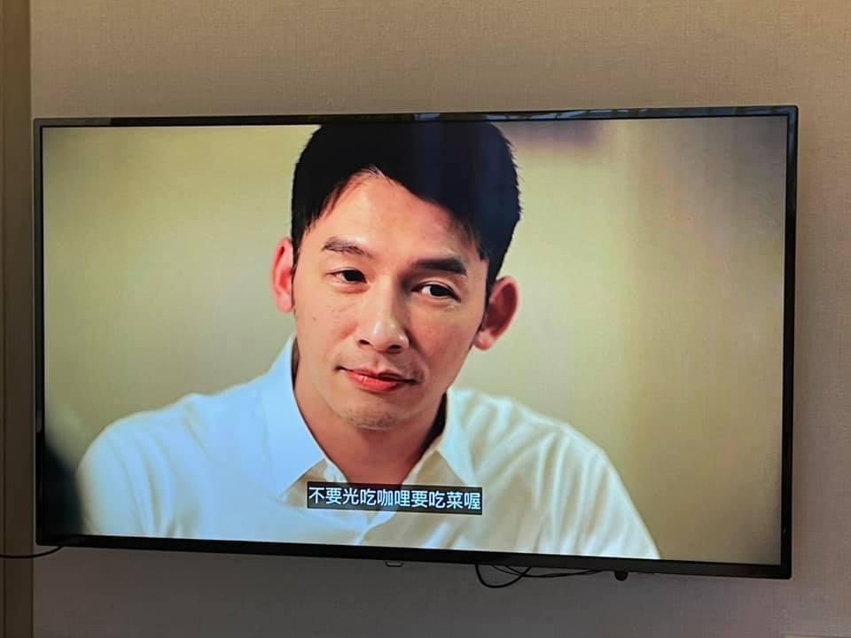 納豆發現溫昇豪在3部劇中都和咖哩飯有關係。 圖/擷自納豆臉書