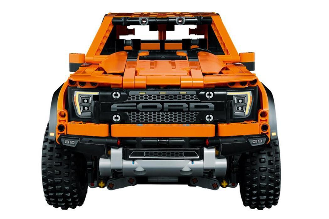 LEGO 42126 Ford F-150 Raptor。 圖/LEGO提供