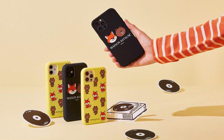 Maison Kitsuné X LINE FRIENDS推出iPhone手機殼...