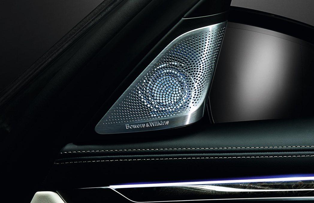 令人心醉神迷的頂級B&W鑽石級高傳真音響系統,首次將鑽石振膜高音單體運用於車內音...