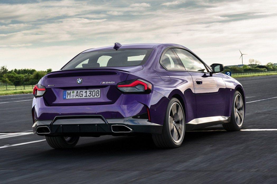 BMW表示與前代車型相比,在靈活度、轉向和動態方面都有顯著提升。 圖/BMW提供