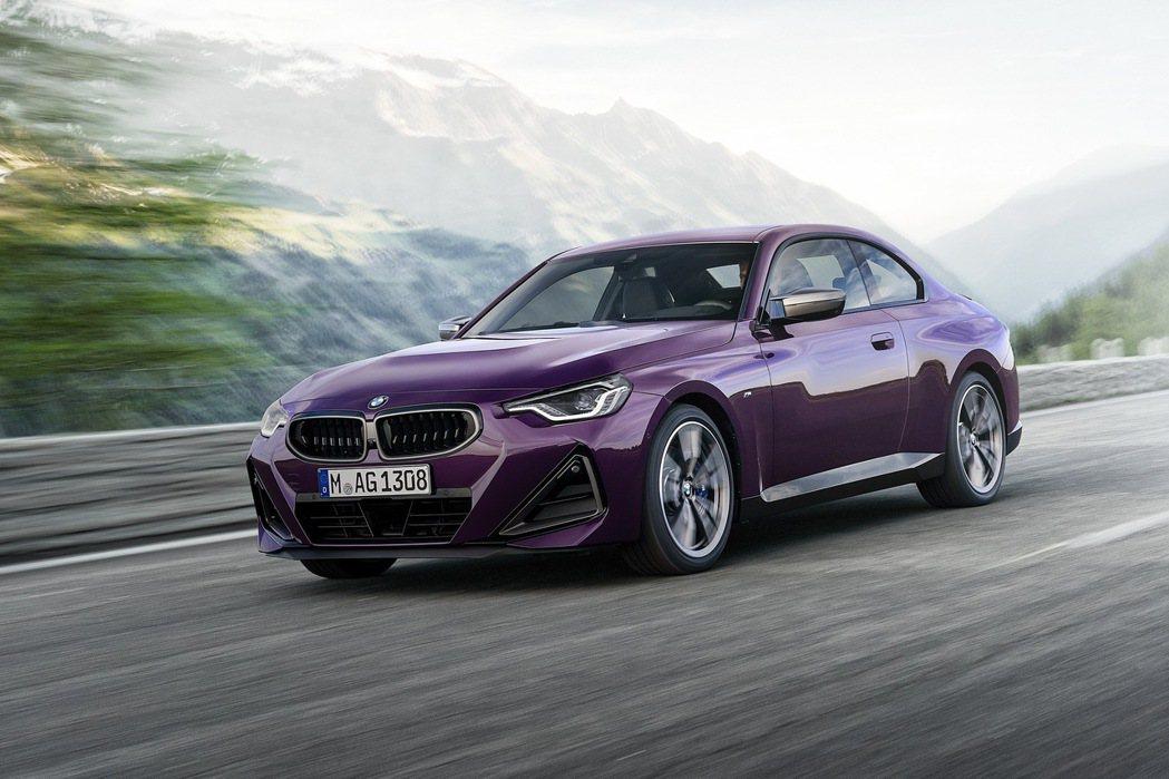 BMW M240i xDrive Coupe。 圖/BMW提供