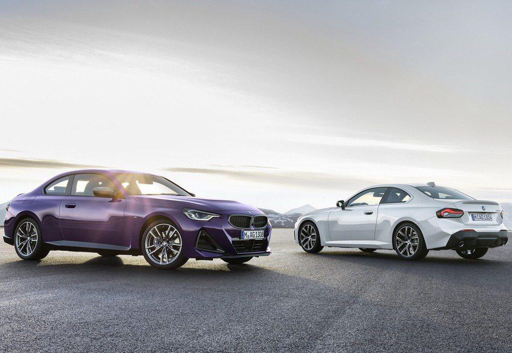 第二代BMW 2-Series Coupe正式發表。 圖/BMW提供