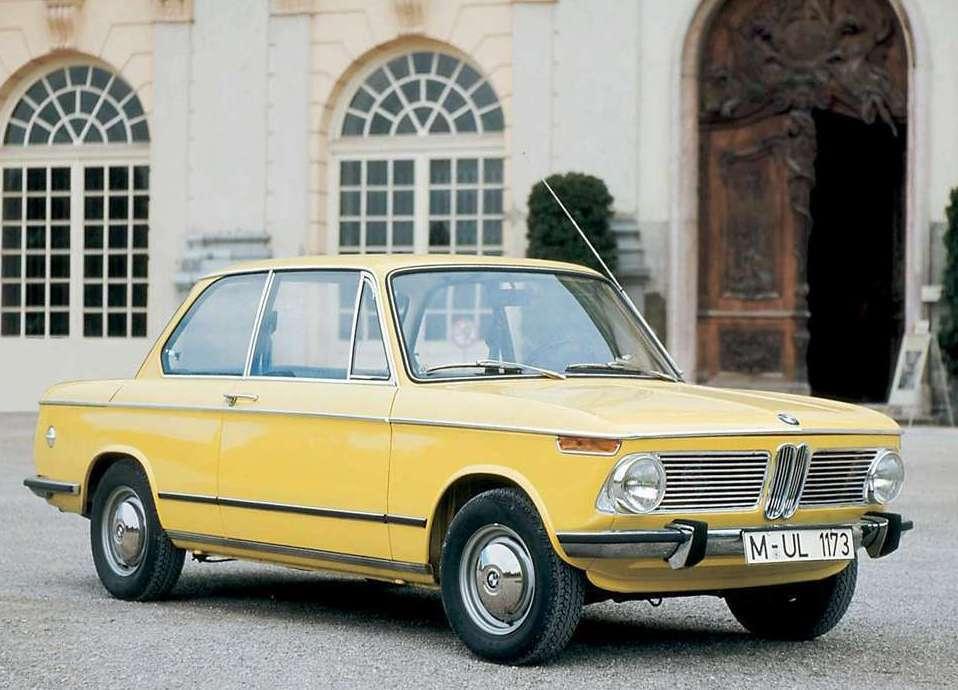 1966年BMW 02 Series。 圖/BMW提供