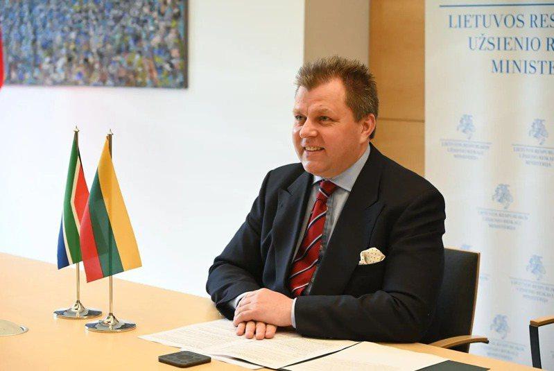 立陶宛外交部副部長艾德梅納斯(Mantas Adomėnas)。圖片來源:立陶宛外交部提供