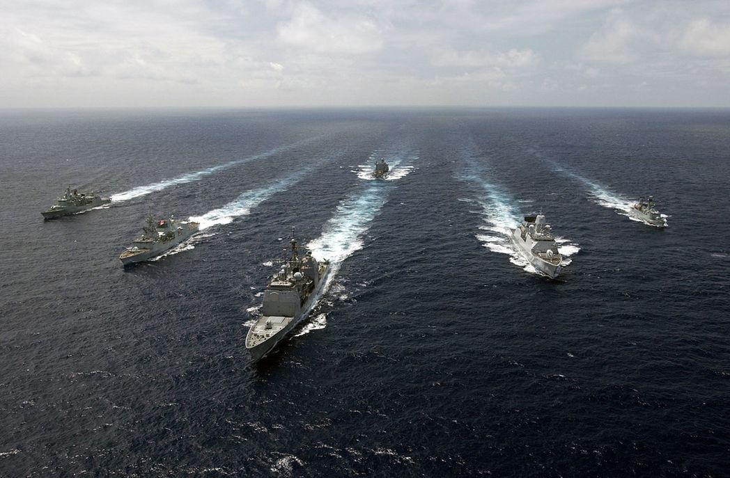 冷戰時期所建立的大西洋常備艦隊,現已改組為北約常備第一海上作戰群。攝於2007年。 圖/維基共享