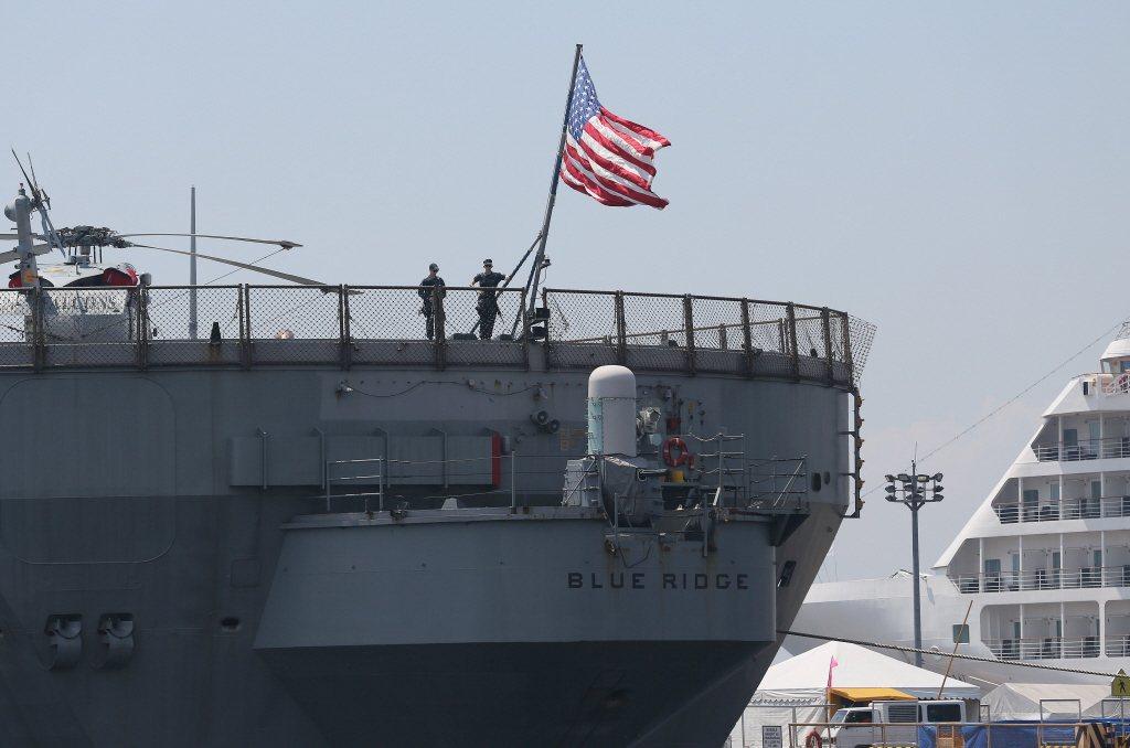 美國目前在太平洋已擁有兩大艦隊,分別是負責美國西岸安全與東太平洋的第三艦隊,與長駐在日本、責任區涵蓋西太平洋與印度洋的第七艦隊。圖為第七艦隊。 圖/美聯社