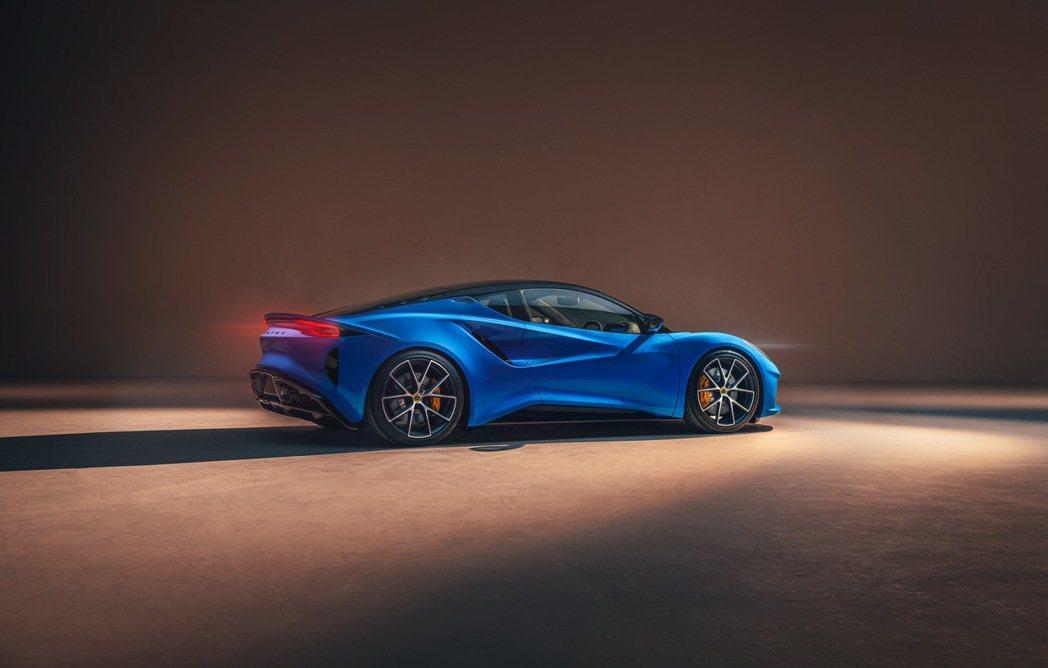 Lotus Emira售價將從60,000英鎊起跳。 圖/Lotus提供