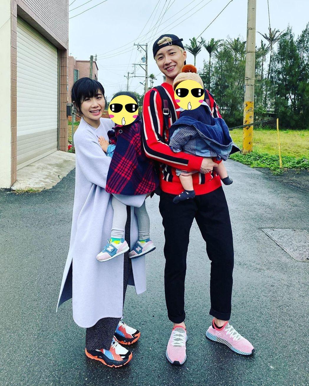 江宏傑與福原愛宣布離婚,共同監護一双兒女。圖/摘自IG