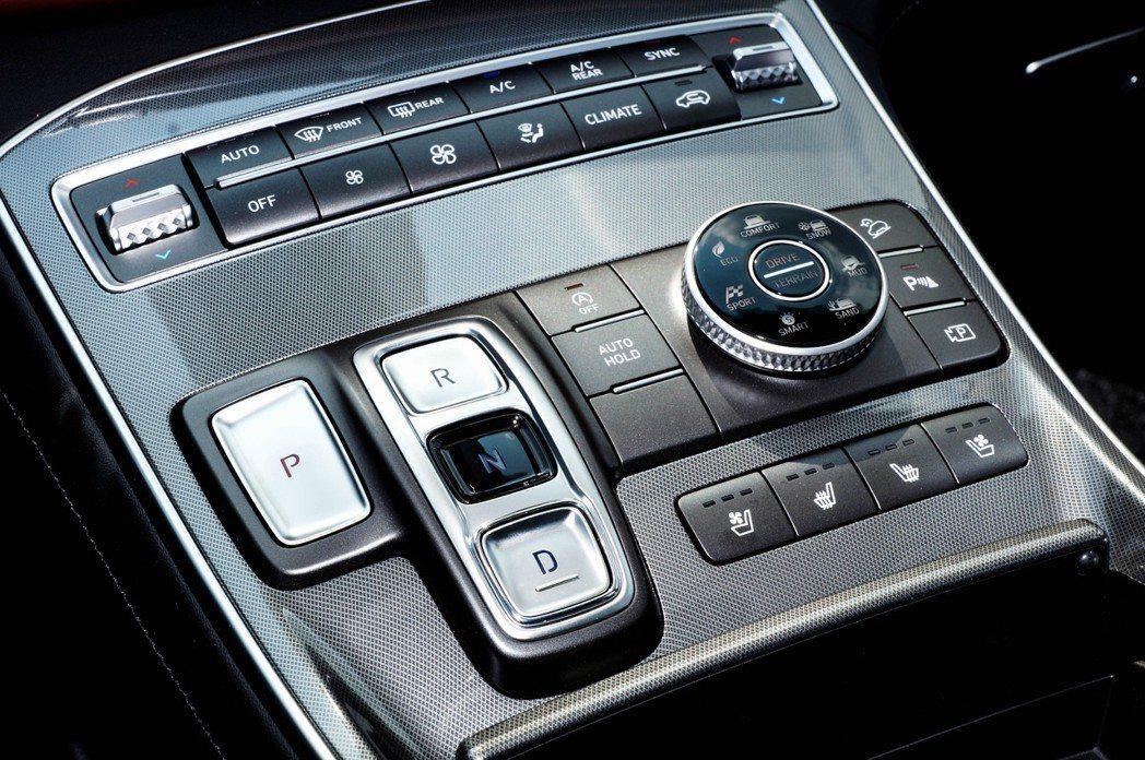 T-shaped高置式鞍座控制台將所有控制按鍵整合。 記者趙駿宏/攝影
