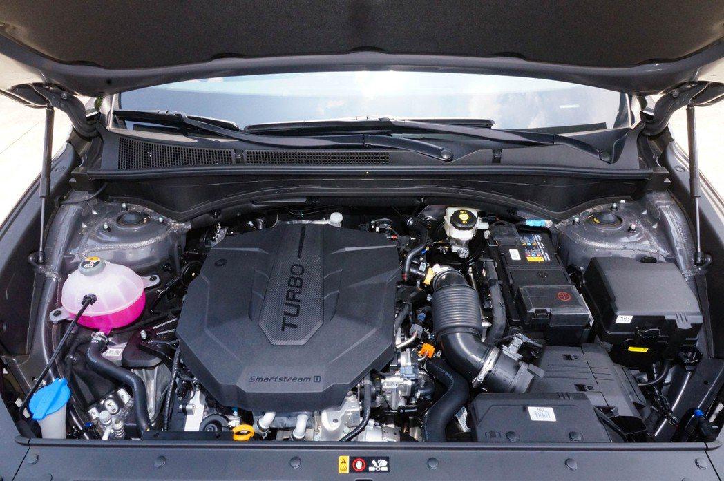 2.2 Smartstream CRDI柴油引擎,能輸出202ps/45kg-m...