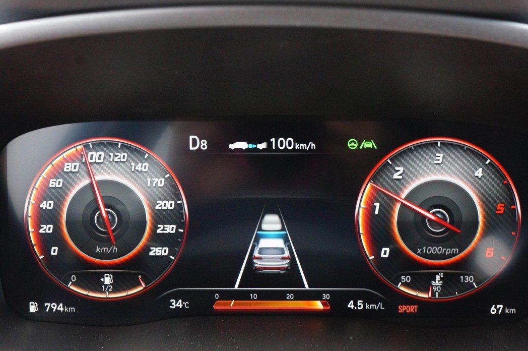 Hyundai SmartSense的整套駕駛十分靈敏,作動方式也相當柔和。 記...