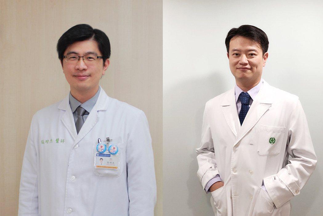 (左起)國立陽明交通大學附設醫院胸腔內科張時杰主任、亞東紀念醫院胸腔內科病房主任...