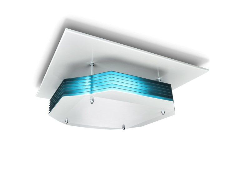 UV-C紫外線吸頂式空氣消毒燈藉由空氣循環原理,使空間中上層的空氣不斷地進行循環...