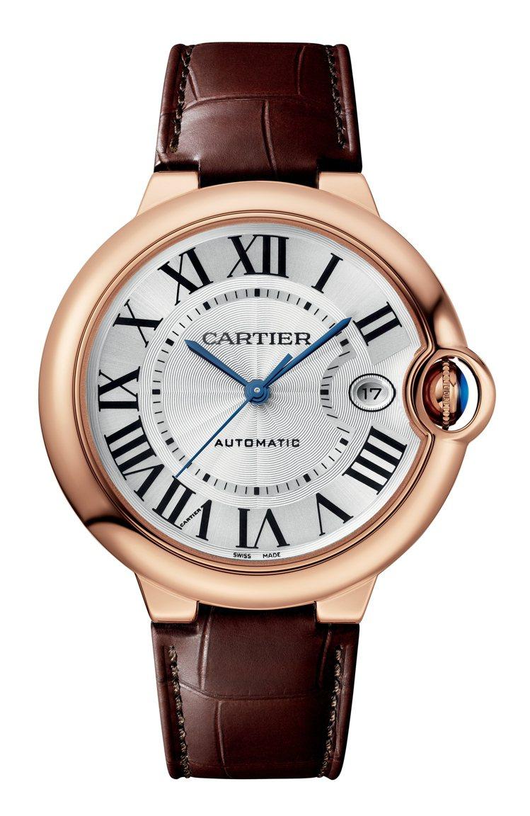 Ballon Bleu de Cartier 40毫米玫瑰金腕表,44萬8,00...