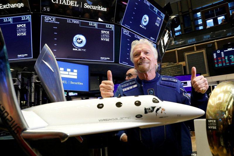 維珍銀河創辦人布蘭森爵士11日就將搭乘旗下的火箭動力太空飛機「團結號」飛向地球與太空的交界,有望搶在亞馬遜創辦人貝佐斯之前,先一步完成億萬富翁首度上太空的壯舉。路透