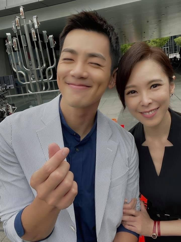 天心(右)、禾浩辰主演的「最佳利益2」希望月底能開拍。圖/摘自臉書