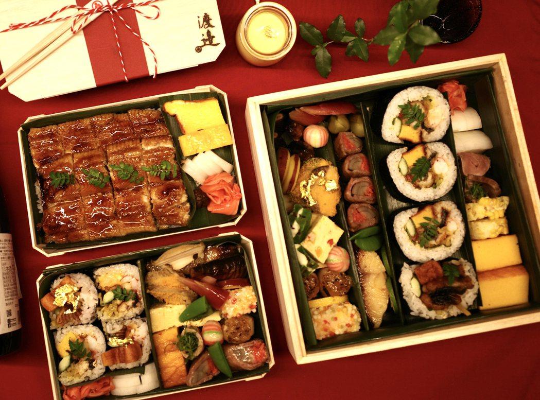 蕭敬騰投資的日本料理店「渡邉」,自6月15日起開賣外帶便當。圖/喜鵲娛樂提供