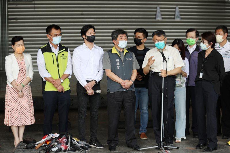 針對環南會議,台北市長柯文哲聲稱「被設局」。本報資料照片