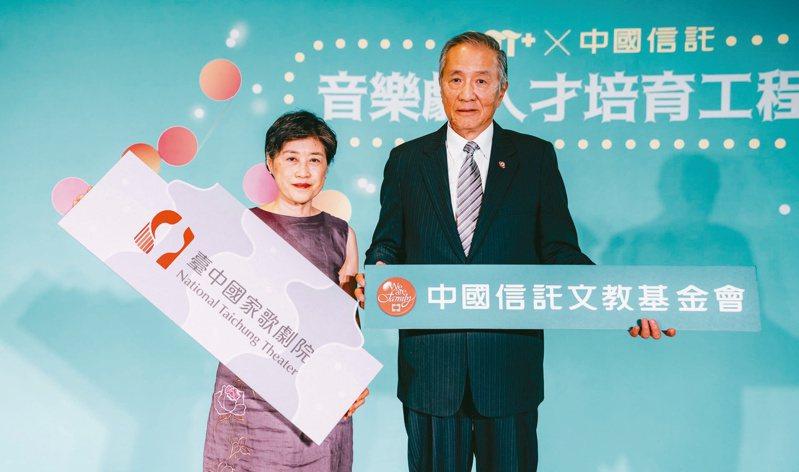中國信託文教基金會力挺台灣音樂劇原創劇本,最高可獲得一百九十五萬創作獎金及製作經費。圖/中信文教提供