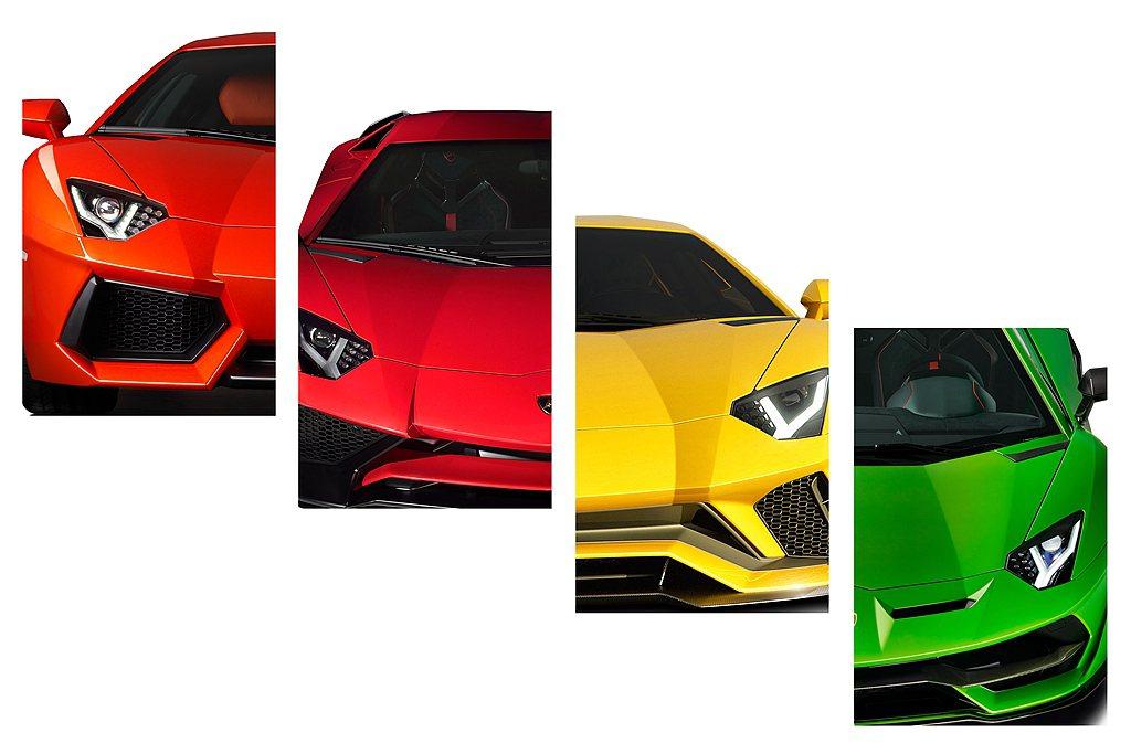 Lamborghini Aventador家族車系誕生10周年之際,細數車款十年...