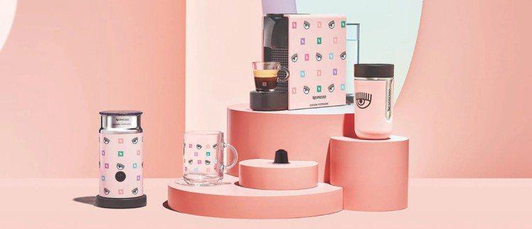 Nespresso x Chiara Ferragni系列在台上市。圖/取自IG