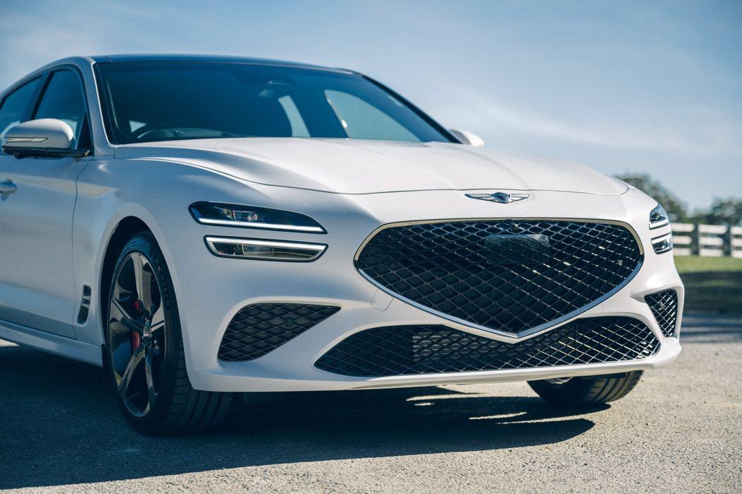 全新Genesis G70 Shooting Brake依然承襲了品牌的設計語彙...