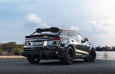 200萬爆改Manhart套件 Audi RS Q8馬力直上905匹!