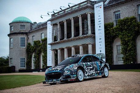 全新Ford Puma Rally1油電賽車登場 將取代Fiesta出戰WRC拉力賽!