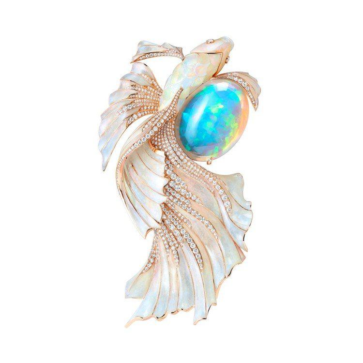 Boucheron Holographique高級珠寶系列Opalescence...