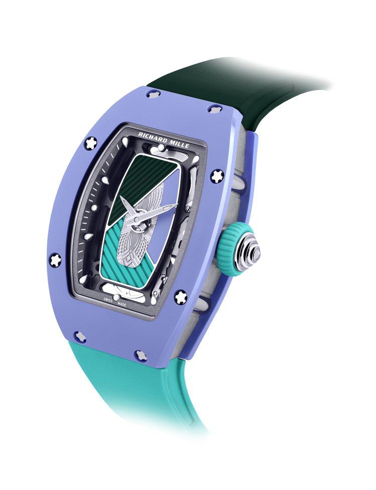 RICHARD MILLE,RM 07-01 Pastel Blue腕表,限量5...