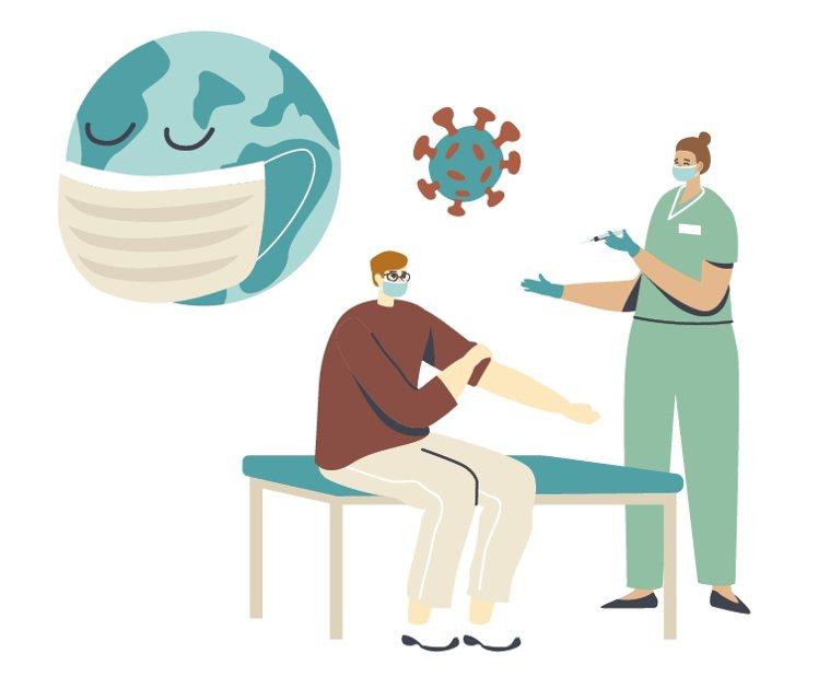 染疫復原、孕婦、服用慢性病藥物、罕病病友等族群接種前,有任何疑慮,應先洽醫師評估...