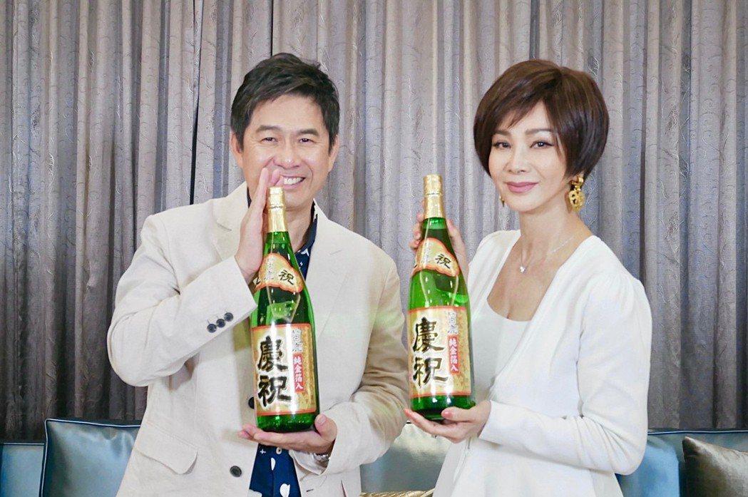 洪都拉斯(左)和陳美鳳慶祝收視第一。圖/民視提供  ※ 提醒您:禁止酒駕 飲酒過...