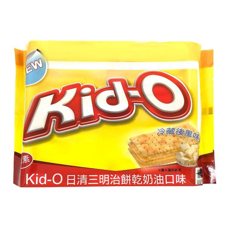 momo購物網「2021進口零食消費指標榜」熱銷第九名:「Kid-O日清分享包三...