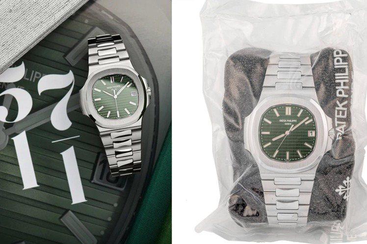 百達翡麗的金鷹系列5711-1A腕表,是目前二手市場中最炙手可熱款式,不斷刷新紀...