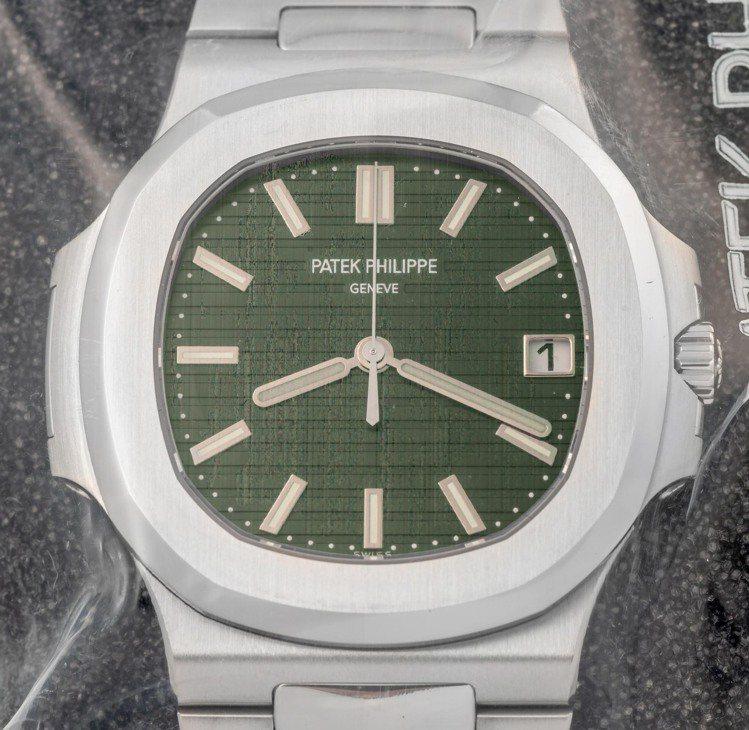 百達翡麗金鷹系列5711-1A腕表也是安帝古倫拍賣行的熱門標的物。圖/Antiq...