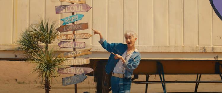 圖/擷自〈Permission to Dance〉MV