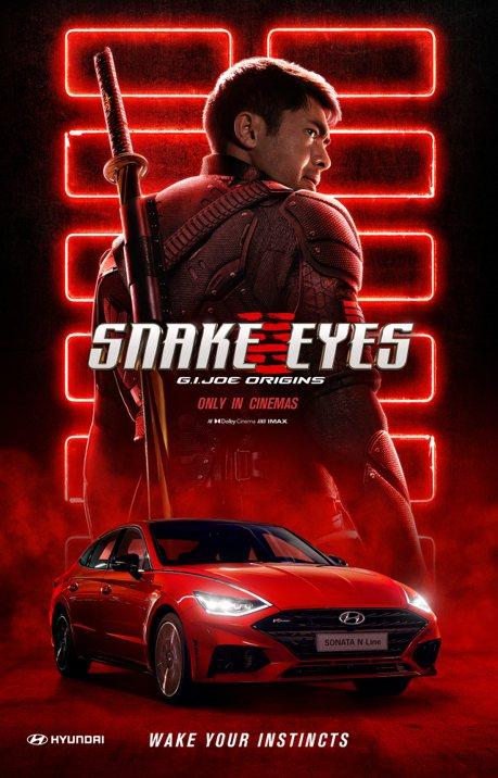 影/Hyundai「甩」進好萊塢 全新Sonata N Line現身《特種部隊:蛇眼之戰》帥一波!