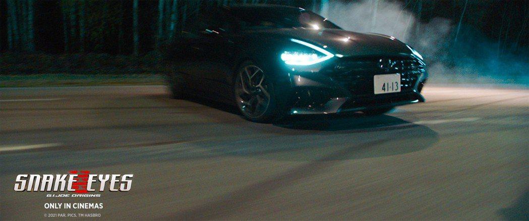 Hyundai Sonata N Line現身《特種部隊:蛇眼之戰》。 摘自Hy...