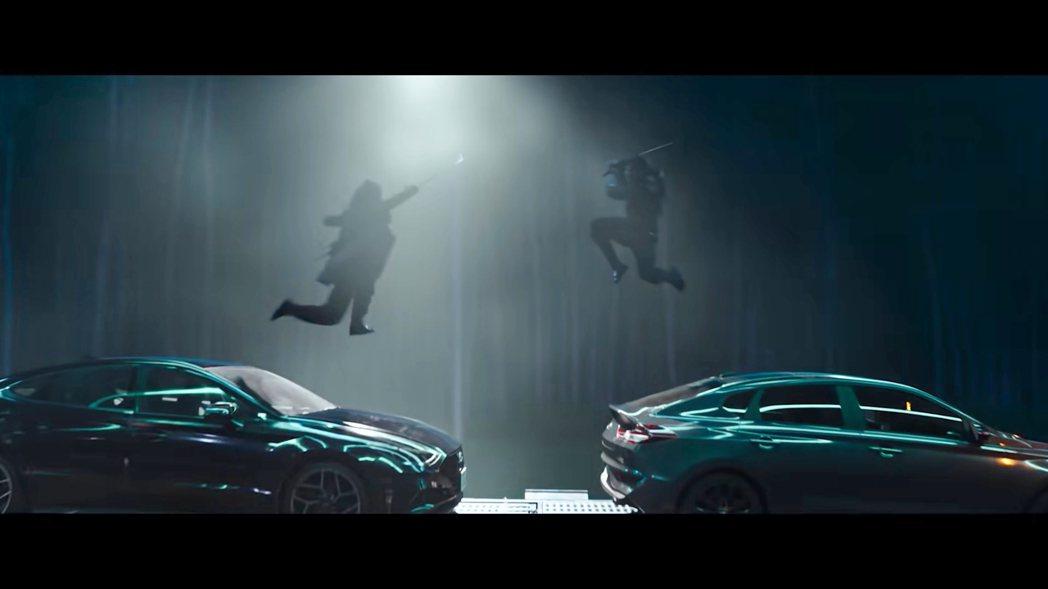 Hyundai新車軍團現身《特種部隊:蛇眼之戰》。 圖/截自《特種部隊:蛇眼之戰...