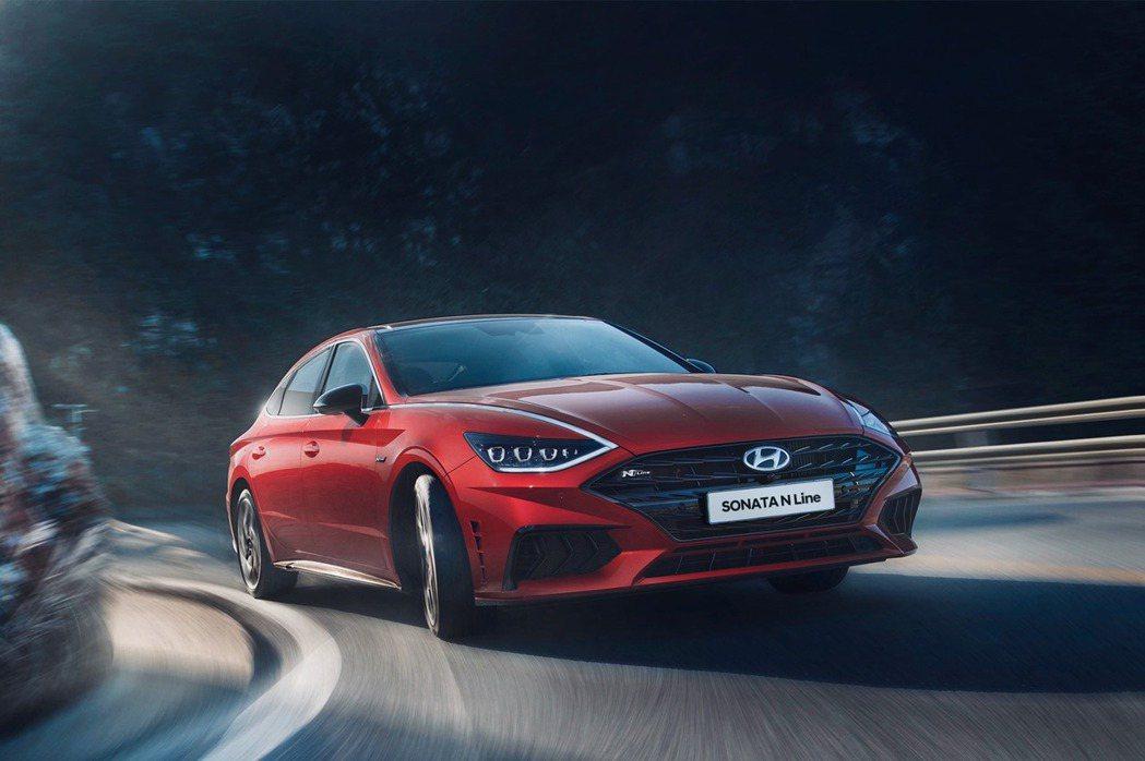 Hyundai Sonata N Line。 摘自Hyundai