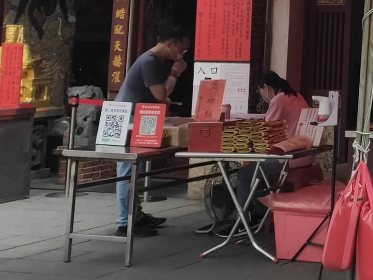 政府禁止中元普渡,有寺廟負責人提出直播普渡的想法,圖為寺廟示意圖,和本新聞無關。...