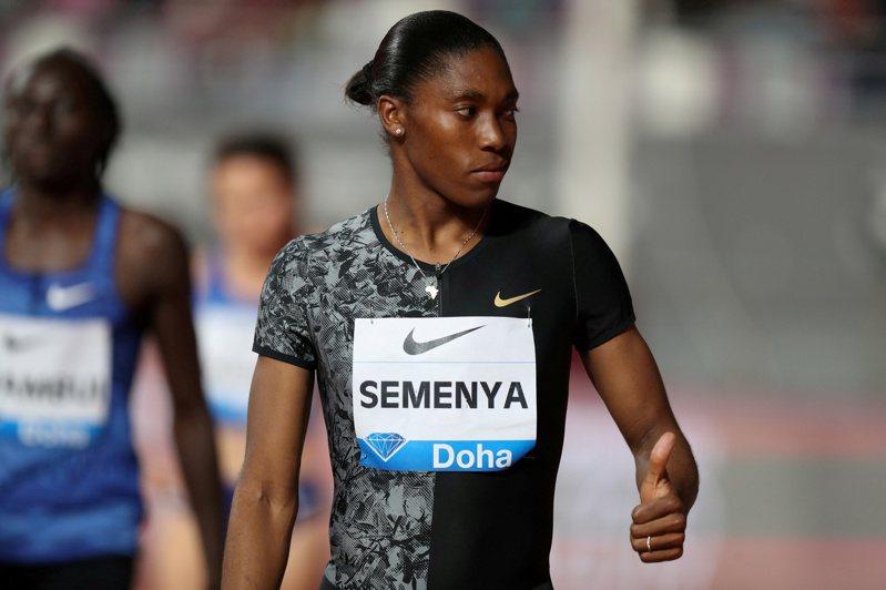 兩度奪金的南非女子800公尺選手賽蔓雅,今年未能參加東京奧運。路透