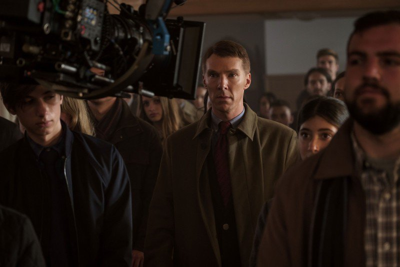 「奇異博士」班尼狄克康柏拜區不僅主演「失控的審判」,同時也是該片製片。圖/Catchplay提供