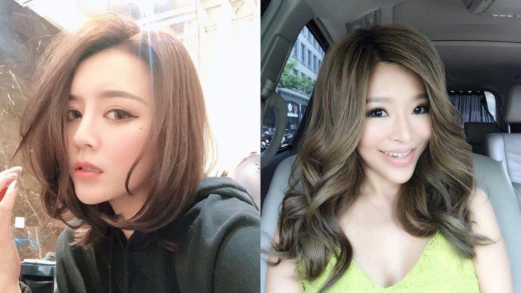 李妍憬(左)爆料李愛綺(右)棄養父母。 圖/擷自臉書
