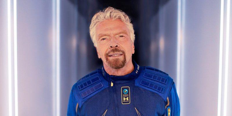 英國富商、維珍銀河公司(Virgin Galactic)創辦人布蘭森(Richard Branson)將在美國東岸時間7月11日早上9時(台灣時間11日晚上9時)進行太空之旅。圖/取自Richard Branson  Twitter