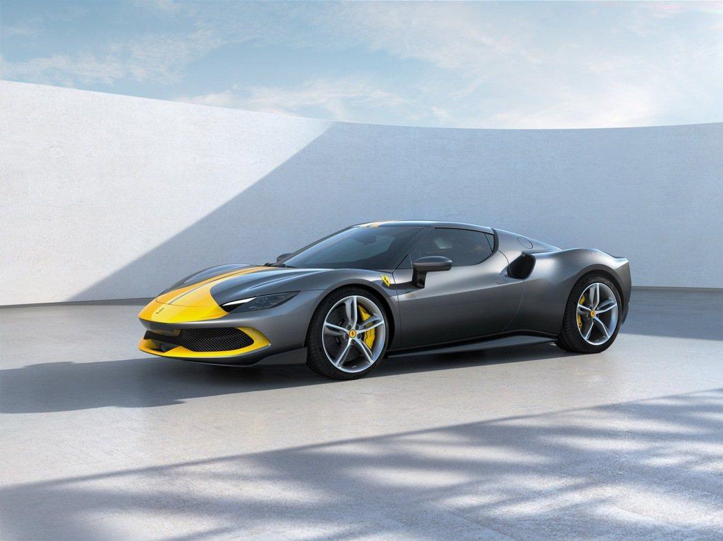 Ferrari 296 GTB。 摘自Ferrari