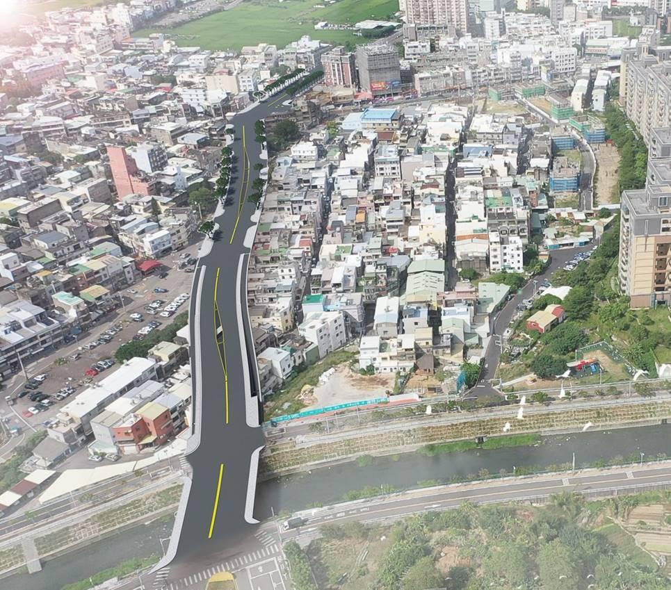 公道三新闢道路預計全長500公尺、寬30公尺,將串聯竹光路、茄苳景觀大道,可直達...